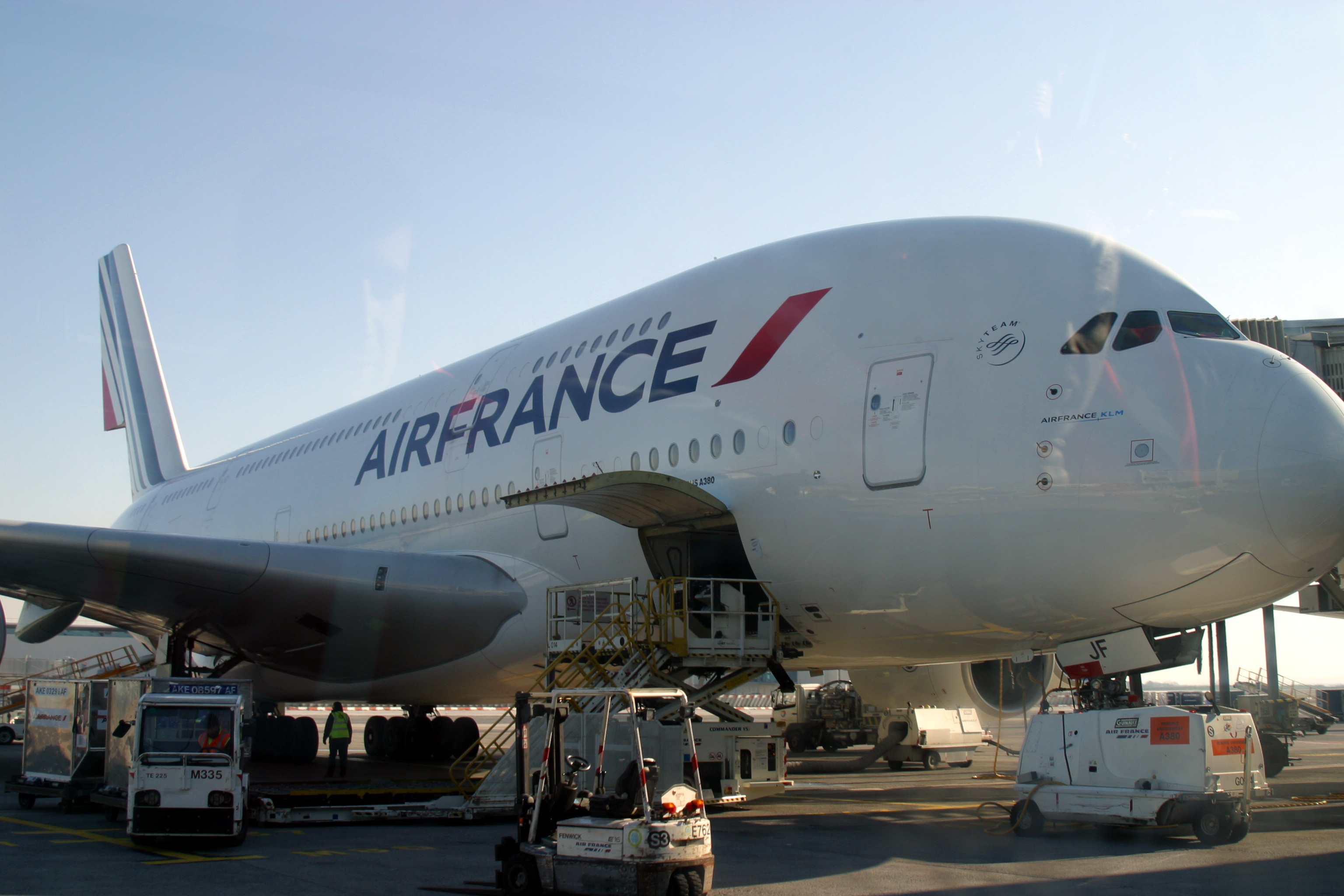 Paris aviation geekette 39 s blog le blog de sophie figenwald for A380 air france interieur