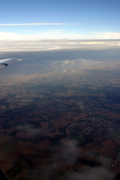During a flight from ORY to MLH in a Fokker 100 Air France by Regional © Sophie Figenwald