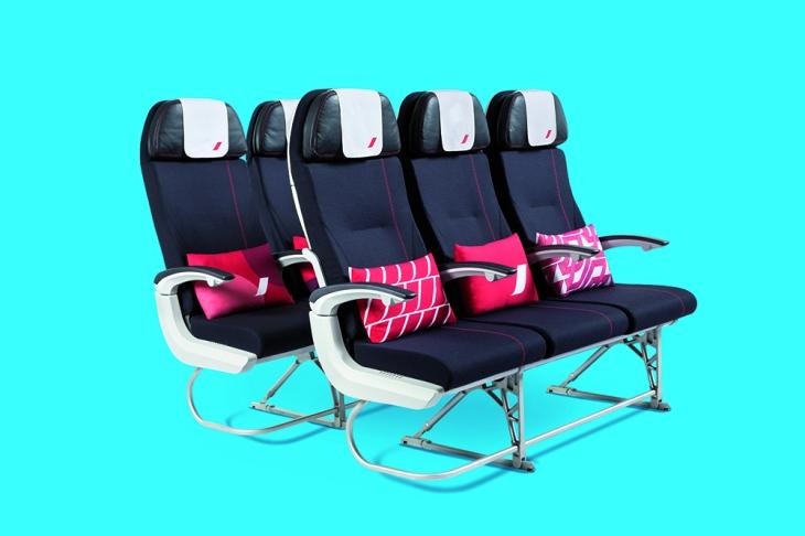 Nouveaux sièges Economy Air France
