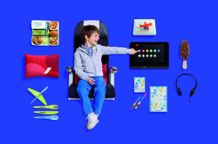 Les enfants aussi profitent de la montée en gamme chez Air France !