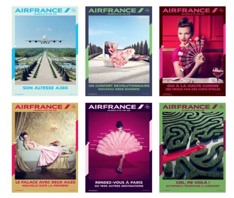 Visuels campagne de communication 2014 © Air France