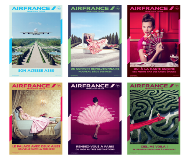Visuels campagne de communication 2014 © Air France
