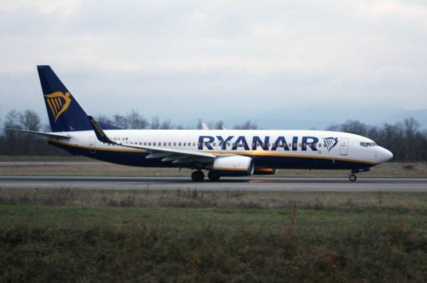 Beoing 737-8 Ryanair au décollage © Sophie Figenwald