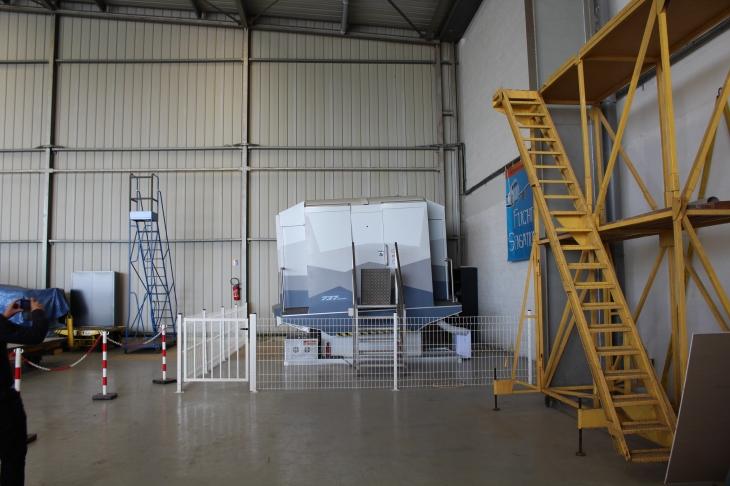 Simulateur de vol sur plateforme mobile Flight Sensations © Sophie Figenwald