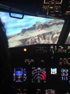 Vol depuis l'aéroport de Grand Canyon © Sophie Figenwald