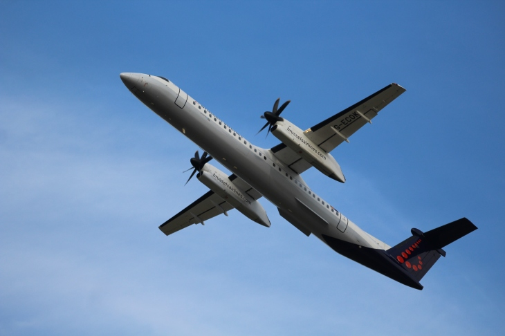 Dash 8 Brussels Airlines